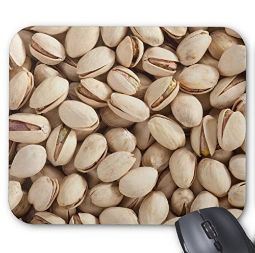 Mousepad Natural-Pistachios Print Mouse Mat ()