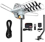 Best Digital Hdtv Antennas - 2019 Version HDTV Antenna Amplified Digital Outdoor Antenna Review
