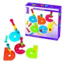 Lauri Tall-Stackers - Pegs a-z Pegboard Set (Lowercase)