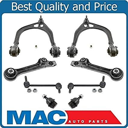 Fits 10-12 Taurus Flex 2 Control Arm With Bushings /& Ball Joint Tie Rods 8Pc
