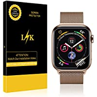6 Pack LK Screen Protector for Apple 44mm / 42mm Watch with Lifetime Replacement Warranty