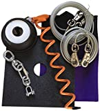 Double Dog Run 200 lb. Tangle Free Tie Out System, Large, Assorted