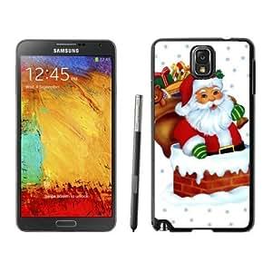 Customized Portfolio Santa Claus Black Samsung Galaxy Note 3 Case 36