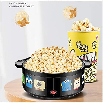 Machine à Pop-Corn Machine à Pop-Corn électrique 3.6l pour Pop-Corn Faible en Gras Sain 550w 30 * 25.7 * 21.2cm