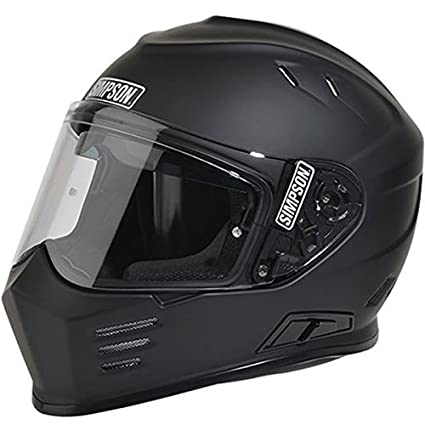 Amazon Com Simpson Ghost Bandit Full Face Motorcycle Helmet Matte