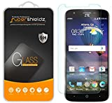 [2-Pack] Supershieldz for ZTE Warp 7 Tempered Glass Screen Protector, Anti-Scratch, Anti-Fingerprint, Bubble Free, Lifetime Replacement Warranty