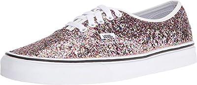 Vans Womens Chunky Glitter Authentic True White Sneaker - 6.5