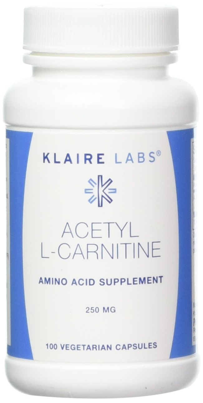 Klaire Labs, Acetyl L-Carnitine 100 Vegetarian Capsules