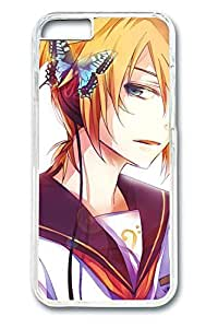 Anime Handsome Boy 07 Cute Hard Cover For iPhone 6 Plus Case ( 5.5 inch ) PC Transparent Cases