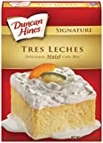 Duncan Hines Signature Cake Mix, Tres Leches, 14.18 Ounce (Pack of 12)