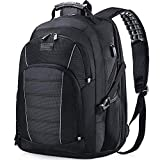 Laptop Backpack, Extra Large 17 Inch Business Travel Backpack with USB Charging Port Earphone Hole, Durable Water Resistant Work Computer Backpack...