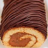 花月堂 送料無料 生しょこらモンブラン ロール 父の日 ギフト スイーツ チョコレートケーキ お祝 誕生日