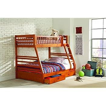 Amazon Com Coaster Home Furnishings Ashton Twin Over Full