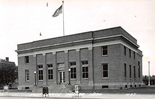Aurora Nebraska Post Office Real Photo Antique Postcard K59665