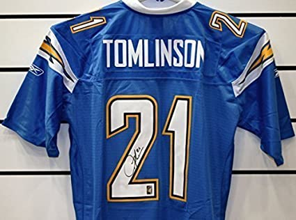 low priced 5af42 03c94 LaDainian Tomlinson Autographed San Diego Chargers Jersey at ...