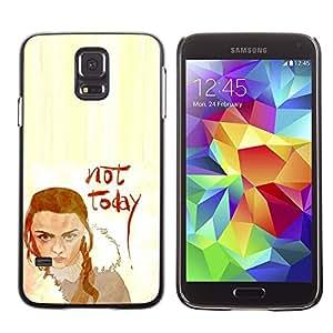A-type Arte & diseño plástico duro Fundas Cover Cubre Hard Case Cover para Samsung Galaxy S5 (No Hoy Lannister)