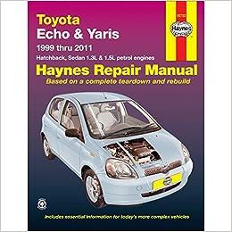 repair manual toyota yaris 2007