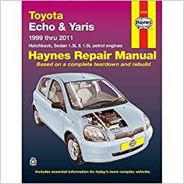 manual toyota yaris 2000