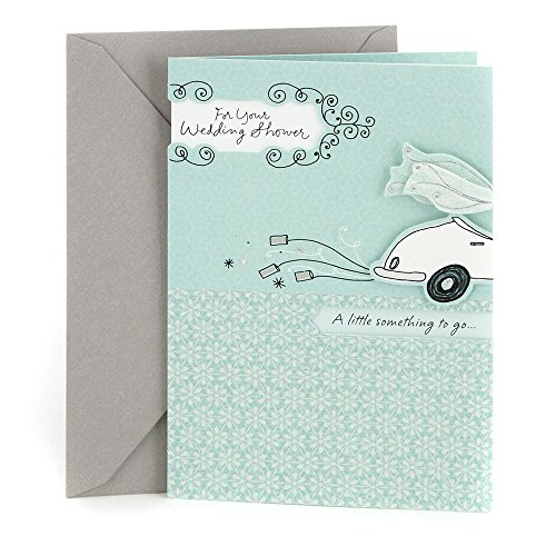 Hallmark Wedding Shower Greeting Card (Get-Away Car)
