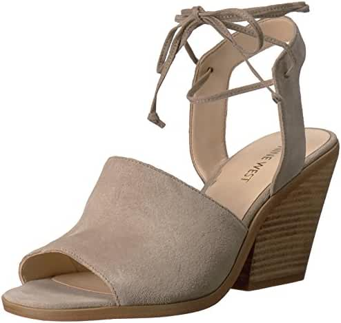 Nine West Women's Yanka Suede Dress Sandal