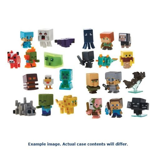 Minecraft Collectible Figures Singles 6 Pack
