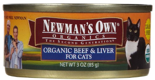 Newman's Own Organics Beef and Liver Canned Cat Food, My Pet Supplies