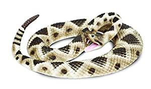 Safari Ltd Incredible Creatures Eastern Diamondback Rattlesnake