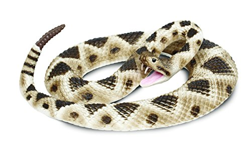 Snake Rattler - Safari Ltd Incredible Creatures Eastern Diamondback Rattlesnake