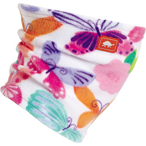 Turtle Fur Kids Single-Layer Classic Fleece Playful Prints Neck Warmer Float, Flutter, Fly (Layer Fleece Single)
