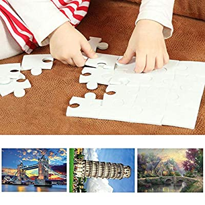 Wonmax 1000 Pieces Adult Puzzles Large Jigsaw Puzzle Hand Made Puzzles Personalized Gift Family Games Toy: Home & Kitchen