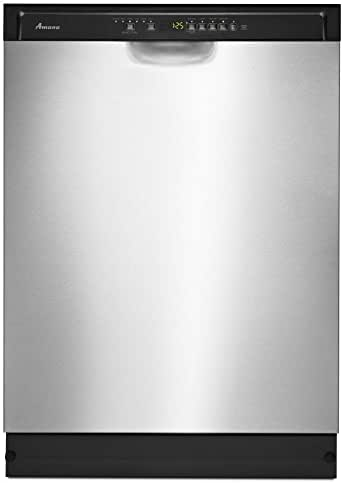 Amana ADB1700AD 24 Inch Wide Energy Star Rated Built-In Dishwasher with 1-Hour F, Stainless Steel