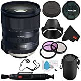 6Ave Tamron SP 24-70mm f/2.8 Di VC USD G2 Lens for Nikon F (International Model) + 82mm 3 Piece Filter Kit + Deluxe Lens Pouch + Deluxe Cleaning Kit + Lens Cap Keeper + Lens Pen Cleaner Bundle