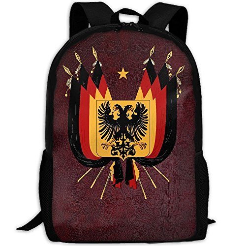 German Eagle Flag Interest Print Custom Unique Casual Backpack School Bag Travel Daypack - Flag Sunglasses German
