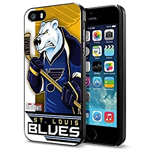 NHL St. Louis Blues , Cool iPhone 4s 4s Smartphone Case Cover Collector iphone Black
