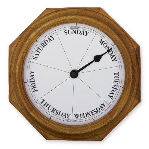 51i mKO1dlL - Classic Oak Dayclock Day Clock Retirement Gift