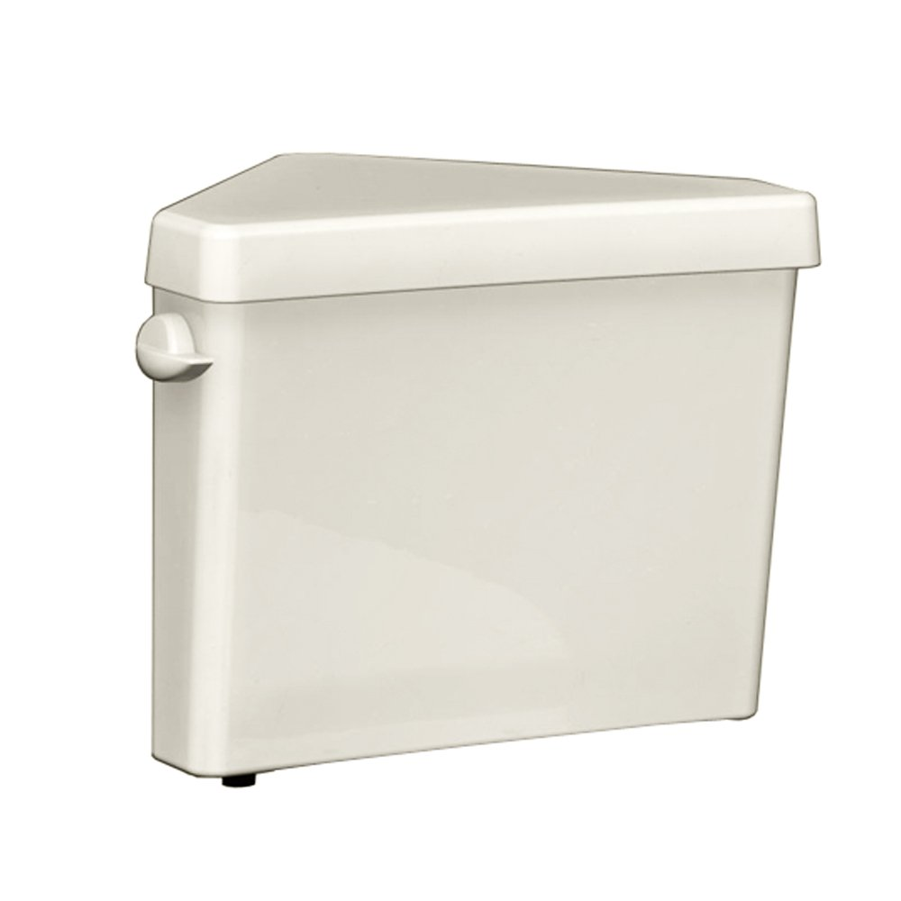 American Standard 4338001.222 Cadet 3 Triangle 1.6 GPF  Toilet Tank Only, Linen