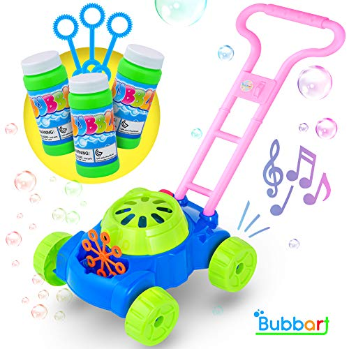 Bubbart Bubble Lawn Mower Automatic Bubble Machine