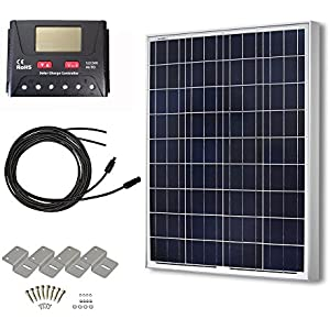 HQST Polycrystalline Off Grid Controller Mounting