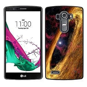 El Círculo de Oro - Metal de aluminio y de plástico duro Caja del teléfono - Negro - LG G4