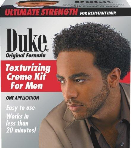 Duke Texturizing Creme Kit for Men Super 1 Application by Duke London Creme Texturizing Kit