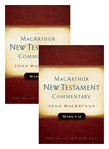 Mark 1-16 MacArthur New Testament Commentary Two Volume for sale  Delivered anywhere in USA