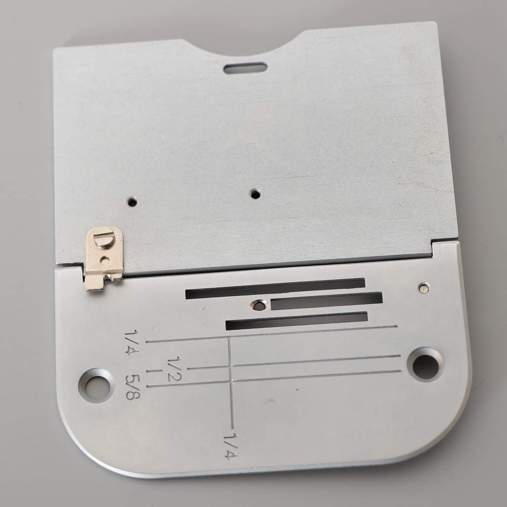 PQ1300 Baosity 1Pcs Stainless Steel Needle Throat Plate for Brother DZ1500F PQ1500
