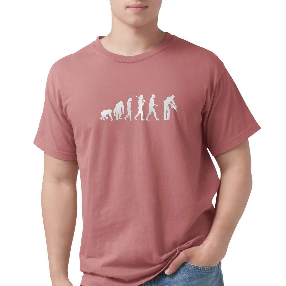 2780a4ed Amazon.com: CafePress Carpenter Evolution T-Shirt Comfort Tee: Clothing