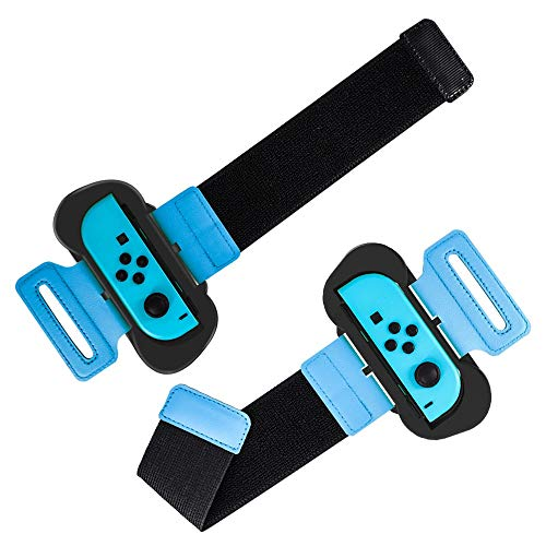 JOYTORN Just Dance 2019-Dance Kids Comfortable Wristband for Nintendo Switch,Adjustable Elastic Strap with Space and Breathable for Joy-Cons Left and Right Handles]()