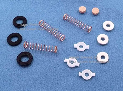 East Coast Instruments Yamaha Trumpet Geniune Piston Guides, Springs, Felts, Slide Valve Corks By by East Coast Instruments