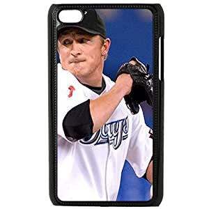 MLB&IPod Touch 4 Black Toronto Blue Jays Gift Holiday Christmas Gifts cell phone cases clear phone cases protectivefashion cell phone cases HMLA615583964