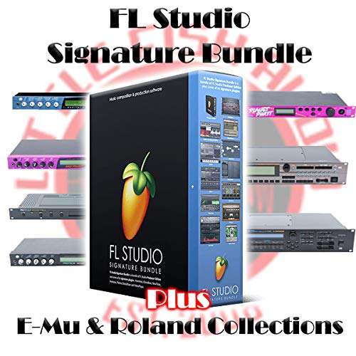 FL Studio Signature + E-Mu & Roland Sample Library Super Bundle! e-Delivery!