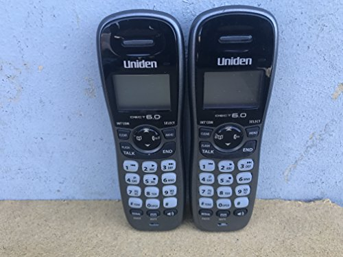 - Uniden DECT1480 Black/Silver DECT 6.0 Expansion Handset for DECT1480-3 DECT1480-4 DECT1480-5 Phones Series - REPLACEMENT HANDSET ONLY