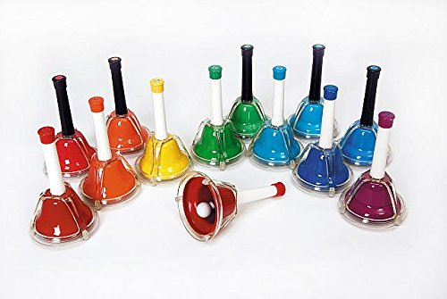 Rhythm Band 13-Note Hand/Desk Bell Set (RB107C - 5 count + RB107 - 8 count) ()