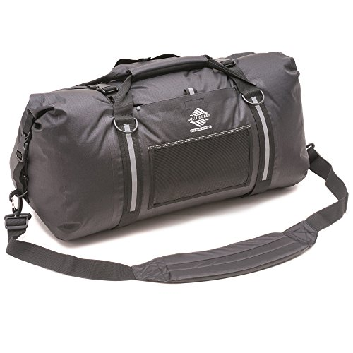 Aqua Quest White Water Duffel - 100% Waterproof - 75 L - Black, Charcoal, or Red